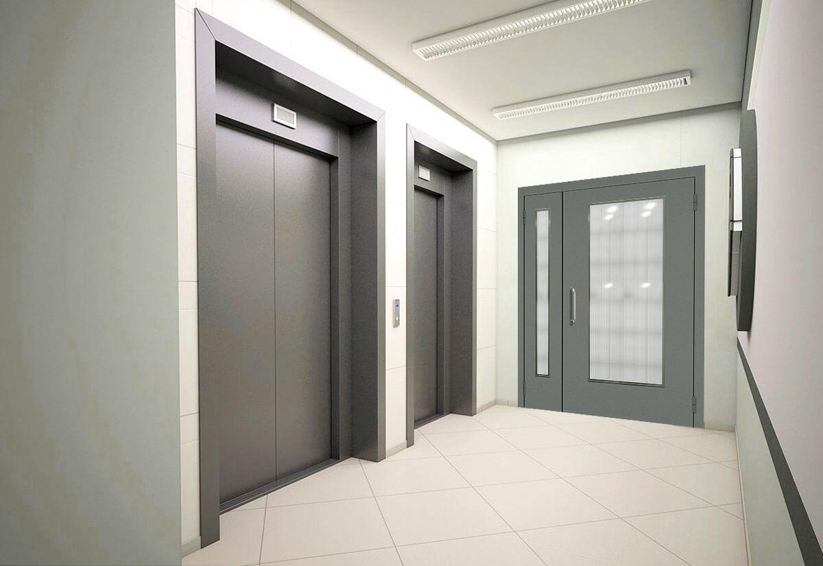 Технические металлические двери