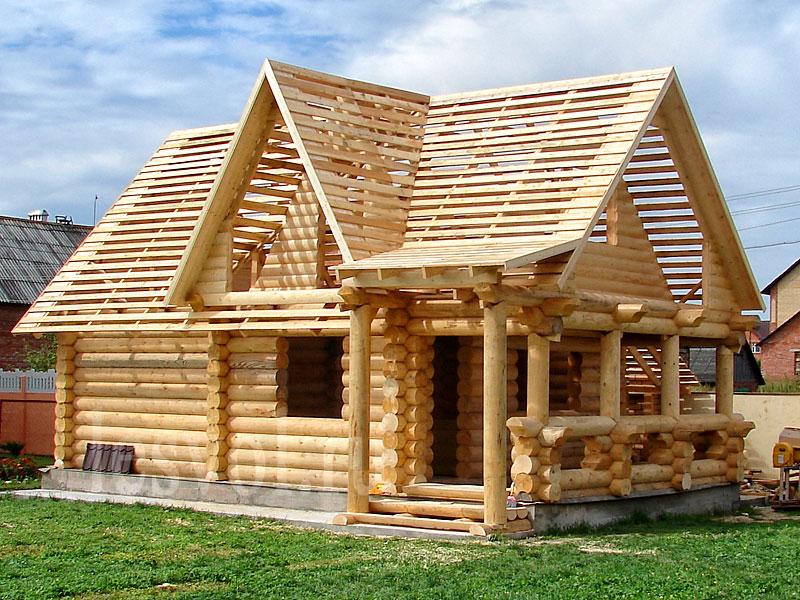 Строительство деревянных домов 1