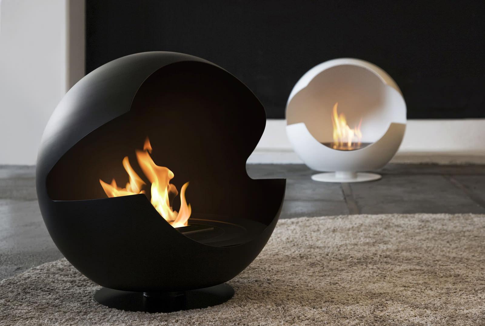 biokamin-Gloss Fire-v-interere