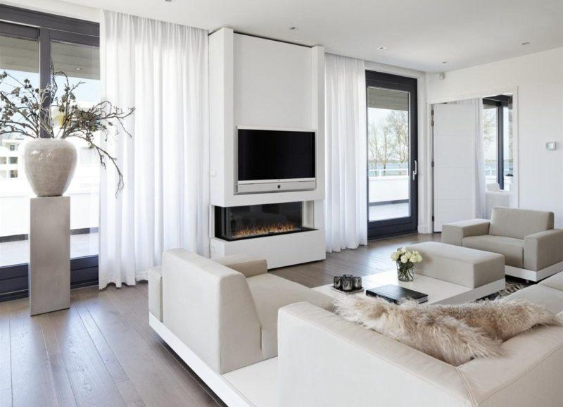Где поставить телевизор в гостиной