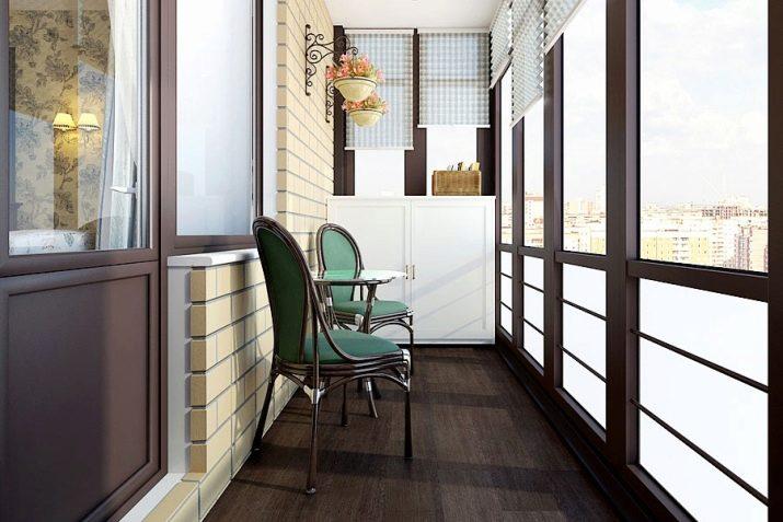 Идеи дизайна большого балкона