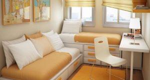 Примеры дизайна маленьких детских комнат
