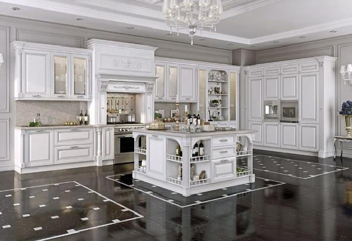 Роскошные кухни