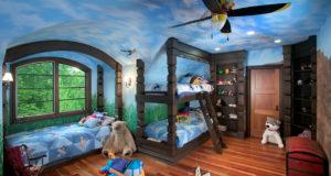 Удивительные детские спальни