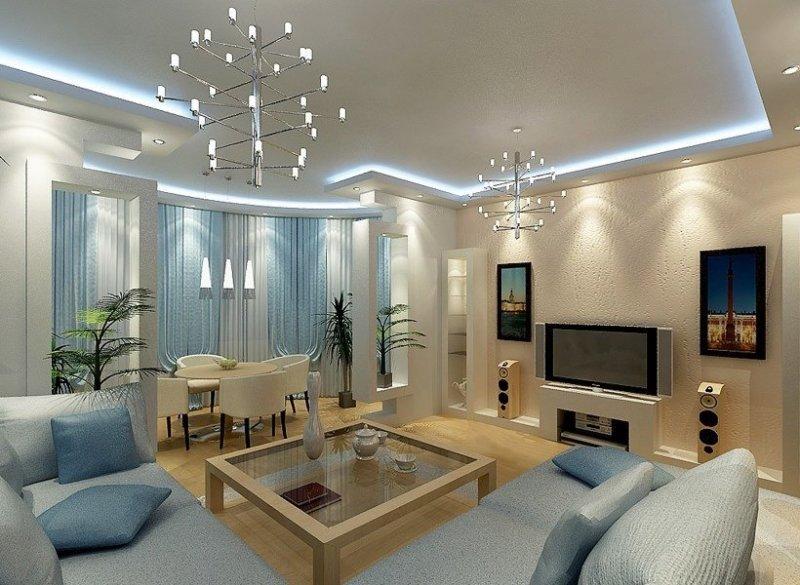 светильники для гостиной