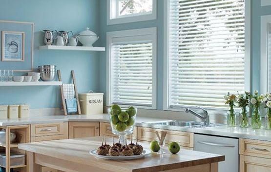 горизонтальные жалюзи для кухни-1
