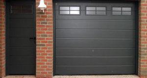 Секционные ворота для гаража Херман
