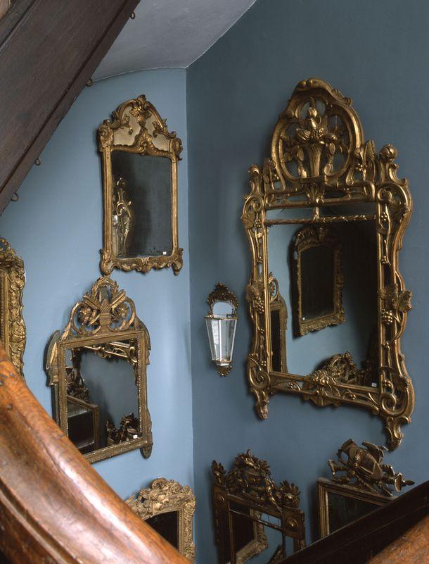 Антикварные зеркала