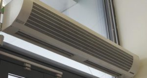 Воздушные тепловые завесы