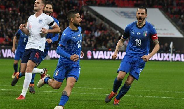 Италия — Англия
